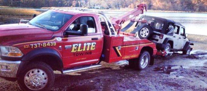 Recovery Towing from Elite Towing