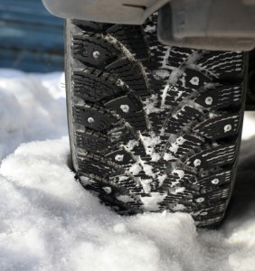 keep these items in your car to help with snow removal on tires