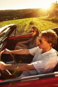 Driving convertible - Long Island Elite Towing