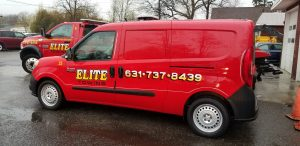 Elite Towing Service Van